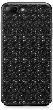Чехол Baseus Plaid Case для iPhone 7 Black (WIAPIPH7-GP01)