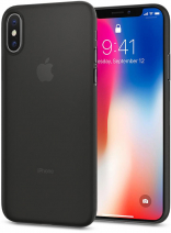 Spigen Case Air Skin for iPhone X Black (057CS22114)