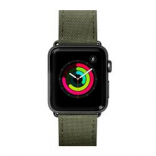 Кожаный ремешок для Apple Watch 42/44 mm LAUT TECHNICAL Military Green (LAUT_AWL_TE_GN)