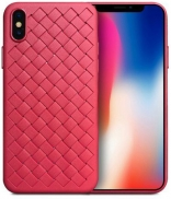 "TPU чехол SKYQI для Apple iPhone X (5.8"") (Красный)"