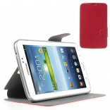 Чехол EGGO Geometric для Samsung Galaxy Tab 3 7.0 T210/T211 Red