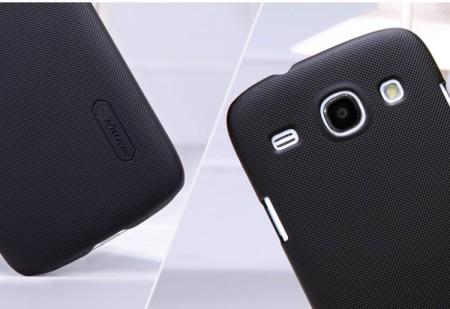 Чехол Nillkin Matte для Samsung i8260 Galaxy Core (+ пленка) (Черный)