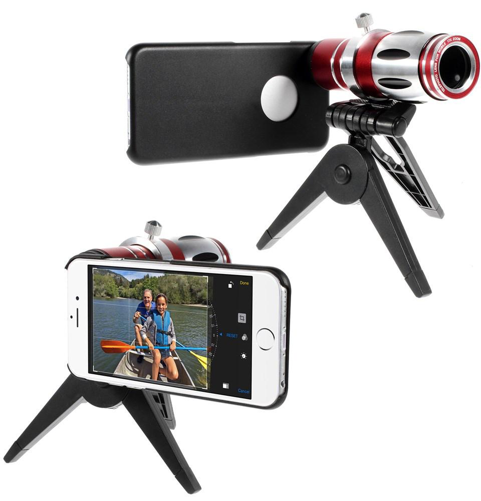 Чехол EGGO для iPhone 6/6S 17X Zoom Optical Telescope Telephoto Lens
