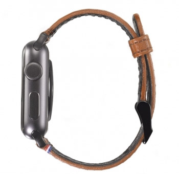 Ремешок Decoded Nappa для Apple Watch 38 mm - Brown (D5AW38SP1BN) - ITMag