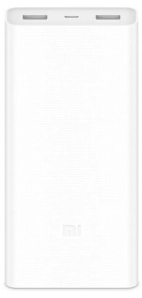 Купить Xiaomi Mi Power Bank 2C 20000mAh White (PLM06ZM)