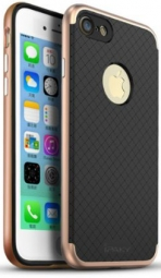 "Чехол iPaky TPU+PC для Apple iPhone 7 plus (5.5"") (Черный / Rose Gold)"