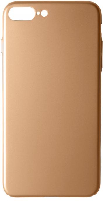 """Пластиковая накладка soft-touch с защитой торцов Joyroom для Apple iPhone 7 plus (5.5"""") (Золотой)"""