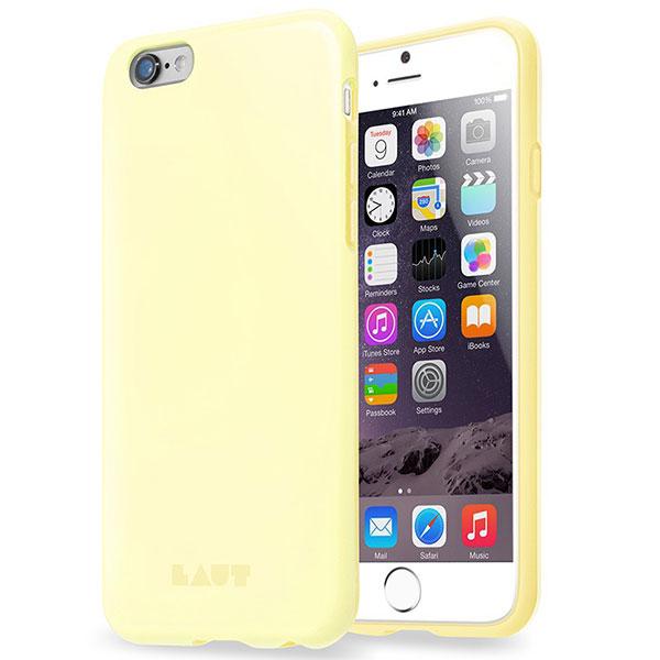 Чехол LAUT Pastels для iPhone 6/6S - Yellow (LAUT_IP6_HXP_Y)