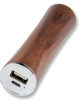 Внешняя батарея EGGO 2600mAh Natural Wooden (iPhone, iPad, Android) Dark Brown