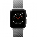 Ремешок для Apple Watch 38/40 mm LAUT STEEL LOOP Silver  (LAUT_AWS_ST_SL)