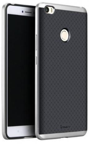 Чехол iPaky TPU+PC для Xiaomi Mi Max 2 (Черный / Серебряный)