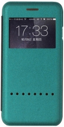 "Чехол (книжка) Rock Rapid Series для Apple iPhone 6/6S (4.7"") (Бирюзовый / Peacock blue)"
