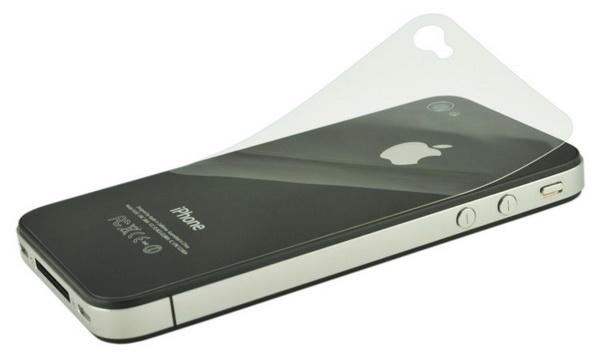 Пленка защитная EGGO iPhone 4/4S 2 в 1 (Глянцевая)