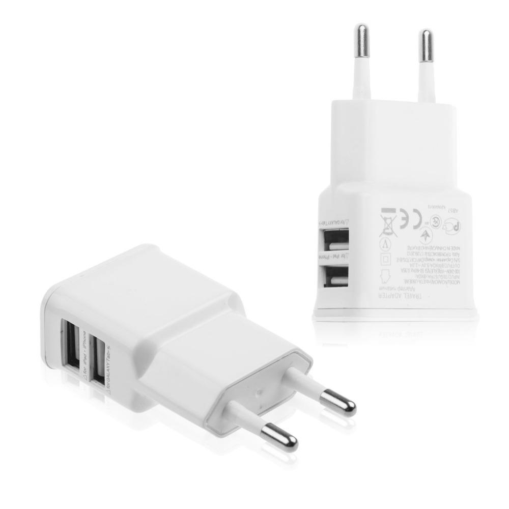 Зарядное устройство EGGO универсальное для планшетов и телефонов Apple/Samsung 2USB