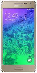 Samsung G850F Galaxy Alpha Frosted Gold UA UCRF