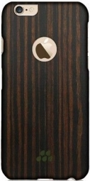 Чехол Evutec iPhone 6/6S Wood S (0,9 mm) Ebony (AP-006-CS-W34)