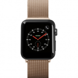 Ремешок для Apple Watch 38/40 mm LAUT STEEL LOOP Gold (LAUT_AWS_ST_GD)