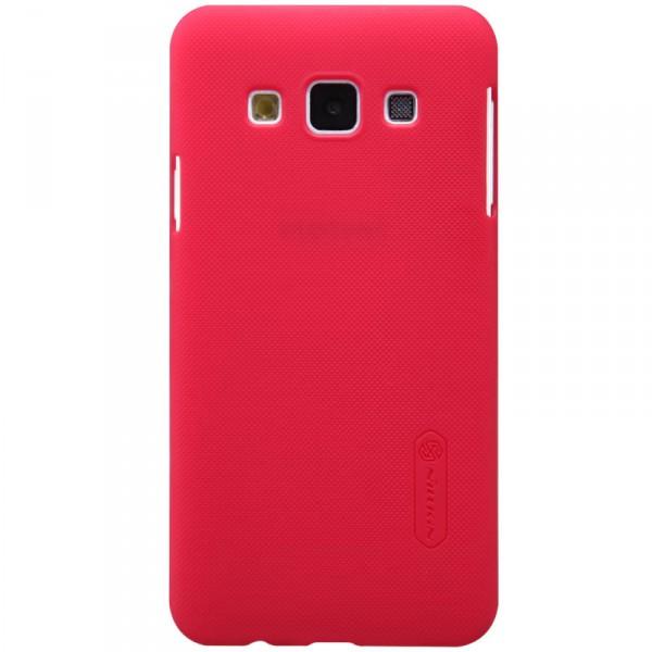 Чехол Nillkin Matte для Samsung A300H Galaxy A3 (+ пленка) (Красный)