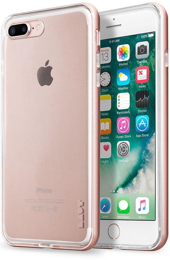 Бампер LAUT EXO-FRAME Aluminium bampers для iPhone 7 Plus - Rose Gold (LAUT_IP7P_EX_RG)