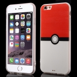 TPU чехол EGGO Pokemon Go для iPhone 6/6S (Pokeball)