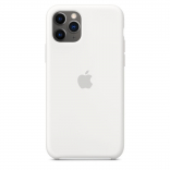 Apple iPhone 11 Pro Max Silicone Case - White (MWYX2) Copy