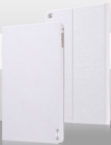 Чехол USAMS Geek Series for iPad Air 2 Magnetic Stand Smart Leather Cover - White