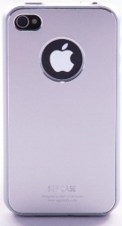 SGP iPhone 4 Case Ultra Thin Matte Series (Satin Silver)