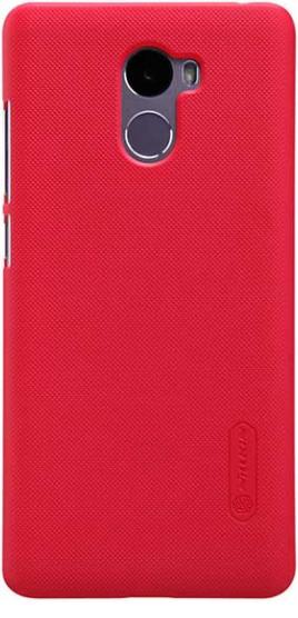 Чехол Nillkin Matte для Xiaomi Redmi 4 (+ пленка) (Красный)
