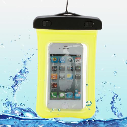 Чехол EGGO водонепроницаемый для Samsung Galaxy/ iPhone 4/4s/5/5s WP-320 (желтый)