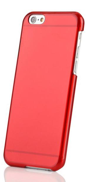 Пластиковая накладка EGGO для iPhone 6/6S - Red