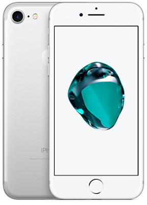 Apple iPhone 7 128GB Silver Б/У (Grade A) - ITMag