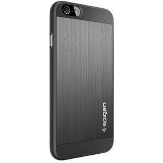 "Чехол SGP Case Aluminum Fit Series Space Gray for iPhone 6/6S 4.7"" (SGP10948) - ITMag"