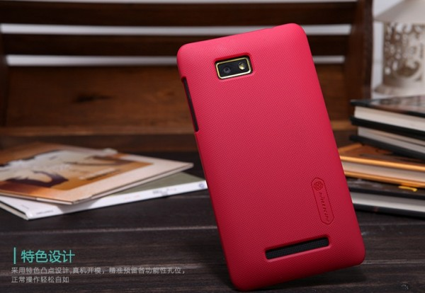 Чехол Nillkin Matte для HTC Desire 400 (+ пленка) (Красный)