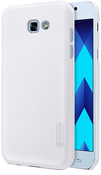 Чехол Nillkin Matte для Samsung A520 Galaxy A5 (2017) (+ пленка) (Белый)