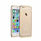 Бампер Devia для iPhone 6 Plus/6S Plus Buckle Curve Champagne Gold