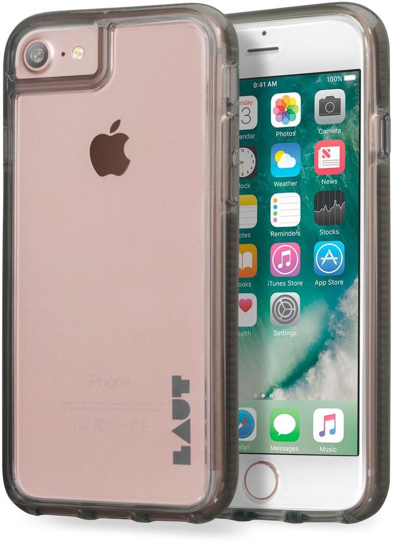 Чехол LAUT FLURO для iPhone 7 - Black (LAUT_IP7_FR_BK)