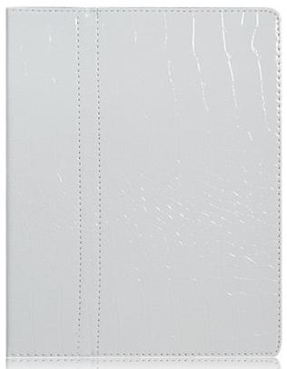 Чехол EGGO Croco Ultraslim для iPad 2/3/4 (крокодиловая кожа, белый)