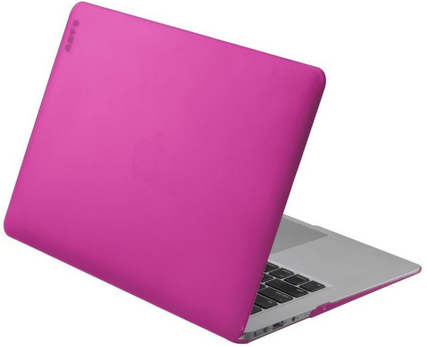 "Чехол LAUT HUEX Cases для MacBook Air 13"" - Pink (LAUT_MA13_HX_P2)"