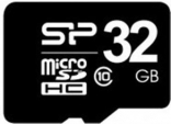 карта памяти Silicon Power 32 GB microSDHC Class 10 UHS-I Elite + SD adapter SP032GBSTH011V10-SP
