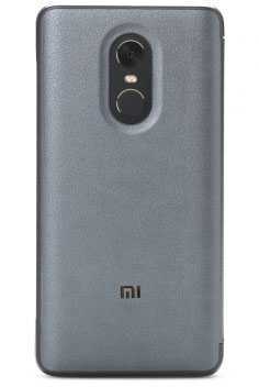Xiaomi Smart View Flip Case for Redmi Note 4X Steel Gray - ITMag