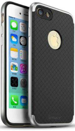 "Чехол iPaky TPU+PC для Apple iPhone 7 (4.7"") (Черный / Серебряный)"