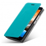 Чехол MOFI Rui Series Folio Leather Stand Case для Lenovo A916 (Бирюзовый/Blue)