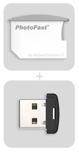 "Картридер PhotoFast CR-8700 MacBook Air 13"" (CR8700#MBA13)"