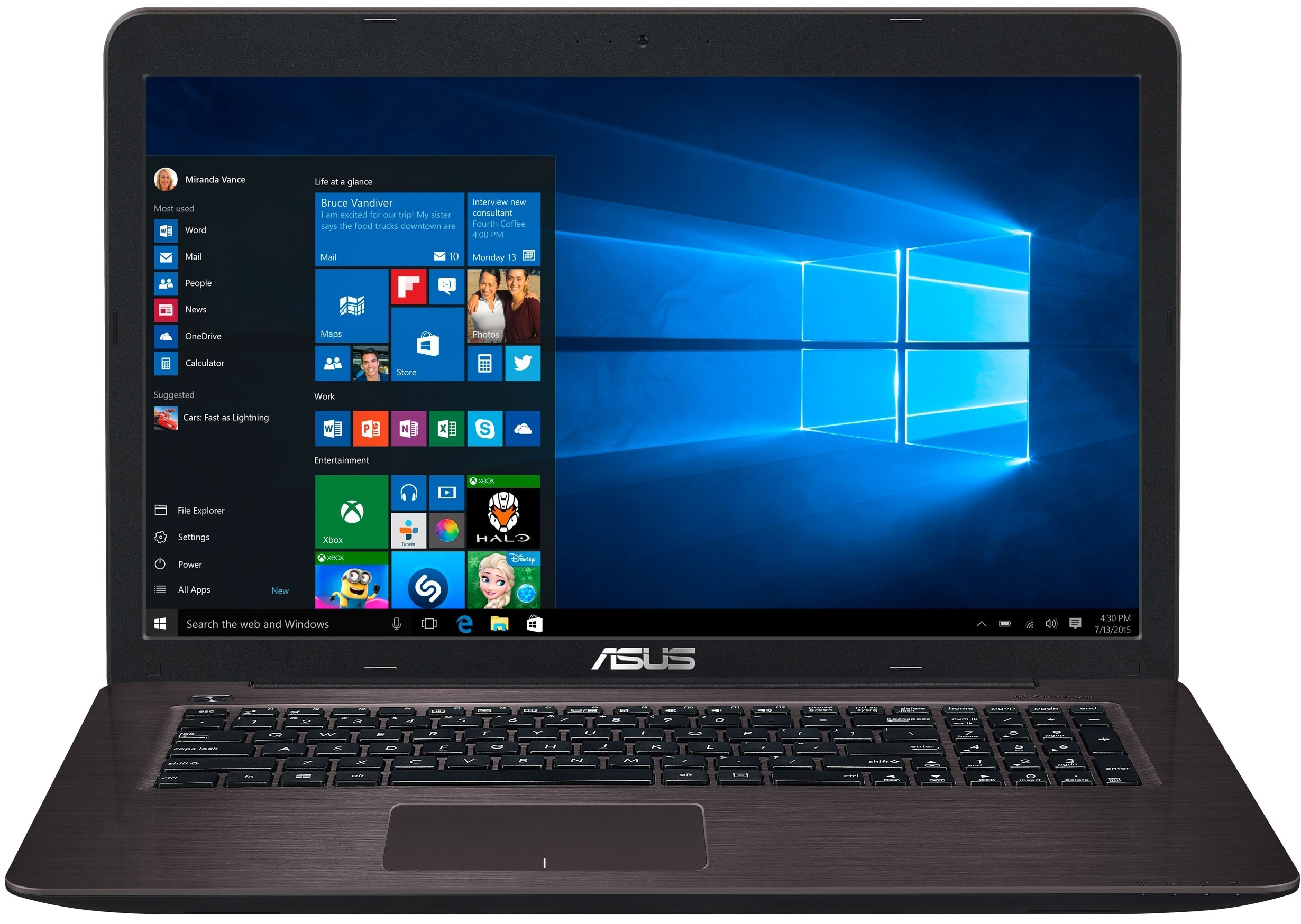 ASUS X756UA (X756UA-T4354D) Dark Brown