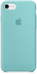 Apple iPhone 7 Silicone Case - Sea Blue MMX02