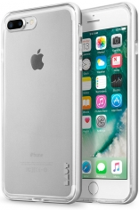 Бампер LAUT EXO-FRAME Aluminium bampers для iPhone 7 Plus - Silver (LAUT_IP7P_EX_SL)