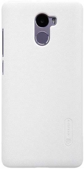 Чехол Nillkin Matte для Xiaomi Redmi 4 (+ пленка) (Белый)