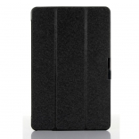 Чехол EGGO Silk Texture Tri-fold Stand Smart Leather Tablet Case for Dell Venue 11 Pro (Черный / Black)