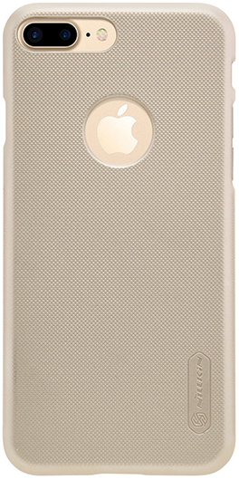 "Чехол Nillkin Matte для Apple iPhone 7 plus (5.5"") (+ пленка) (Золотой)"