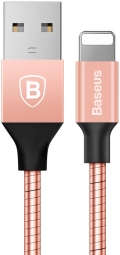 Кабель Baseus Mechanical Era Metal Cable 1M For Apple Rose Gold (CALJS-0R)
